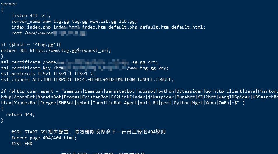 IIS6/IIS7 以上、Nginx、Apache 拦截屏蔽异常蜘蛛 UA 爬行降低负载方法