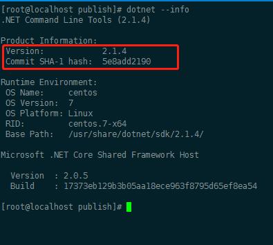 Asp.Net Core 程序发布部署到 CentOS 平台