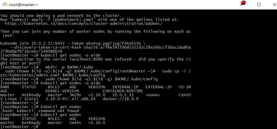 centos7安装kubernetes k8s v1.16.0 国内环境centos7安装kubernetes k8s v1.16.0 国内环境