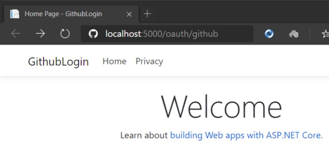.NET Core 急速接入第三方登录